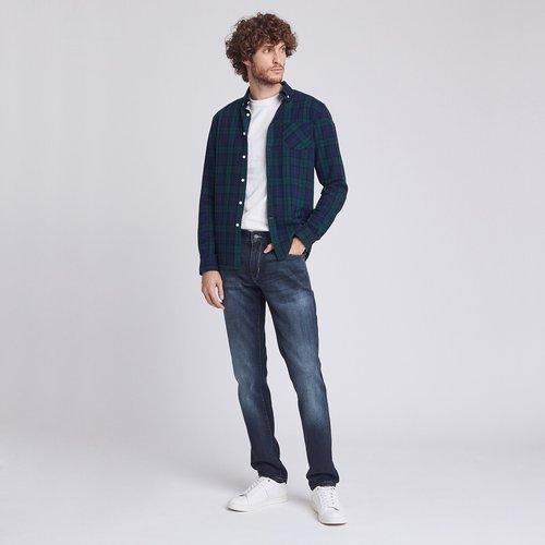Jean Regular patch Bleu Homme - Jules - Modalova