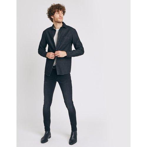 Jean stretch skinny #Max Noir Homme - Jules - Modalova