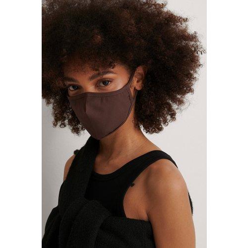 Lot De 2 Masques Ajustés Solides - Brown - NA-KD Accessories - Modalova