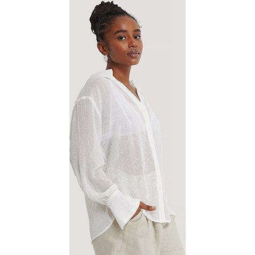 Loose Fitted Shirt - White - AFJ x NA-KD - Modalova