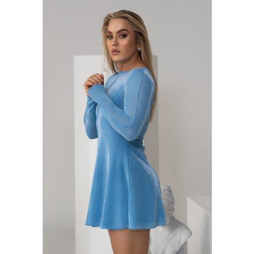 Robe Mini - Blue - Angelica Blick x NA-KD - Modalova
