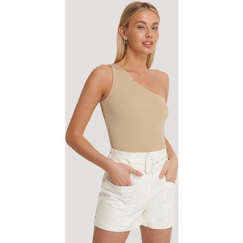 Shorts Taille Haute - White - Basma & Merna x NA-KD - Modalova