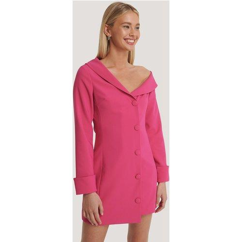 Robe Mini À Épaules Dénudées - Pink - Basma & Merna x NA-KD - Modalova