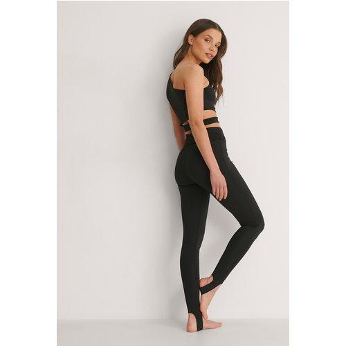 Leggings Élastiques - Black - Bella Michlo x NA-KD - Modalova