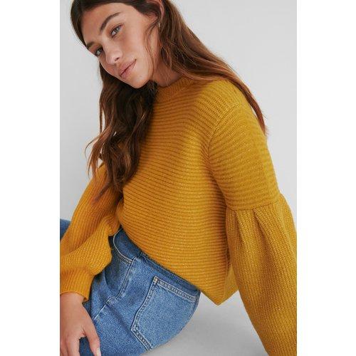 Pull Maille - Yellow - The Fashion Fraction x NA-KD - Modalova
