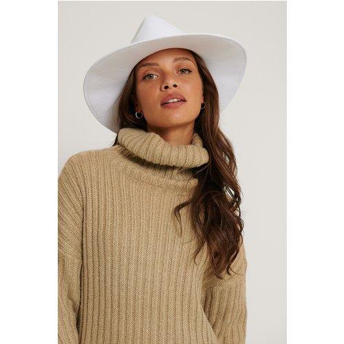 Borsalino Basique - White - The Fashion Fraction x NA-KD - Modalova