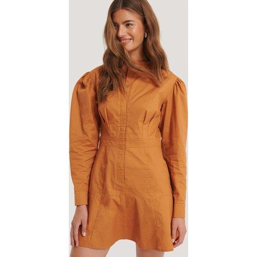 Robe À Col Mandarin - Orange - Gine Margrethe x NA-KD - Modalova