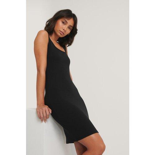 Mini Robe Côtelée - Black - Hoss x NA-KD - Modalova