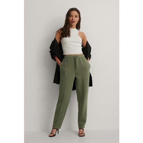 Pantalon De Jogging - Green - Isha Van Dijk x NA-KD - Modalova