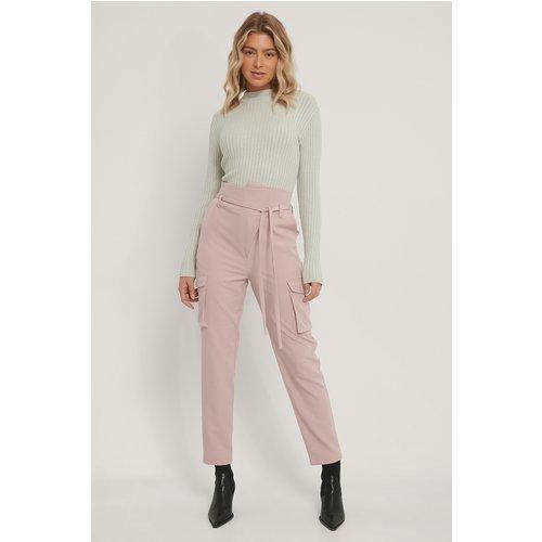 Pantalon - Pink - Isha Van Dijk x NA-KD - Modalova