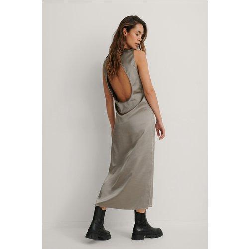 Robe Midi Dos Ouvert - Grey - Kim Feenstra x NA-KD - Modalova