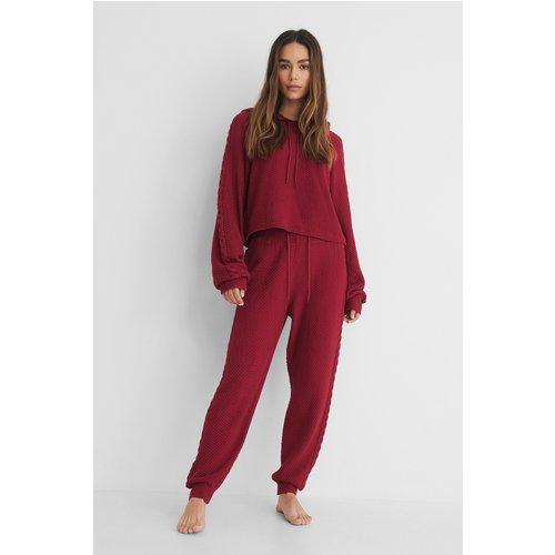 Recyclés Pantalon De Survêtement Taille Haute - Red - Lisa-Marie Schiffner x NA-KD - Modalova