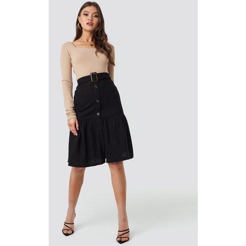 MANGO Fasis Skirt - Black - Mango - Modalova