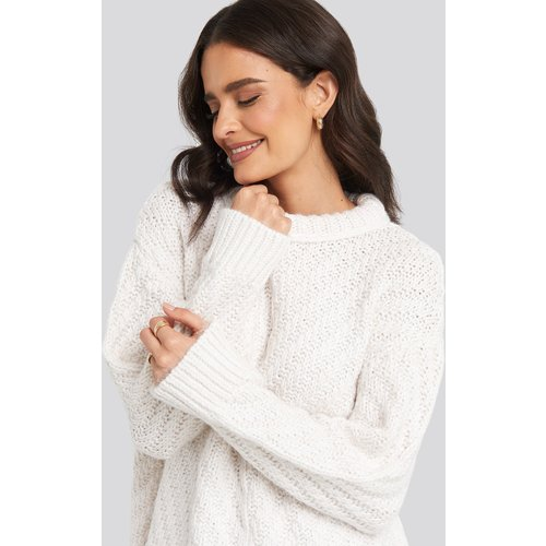 MANGO Mirror Sweater - White - Mango - Modalova