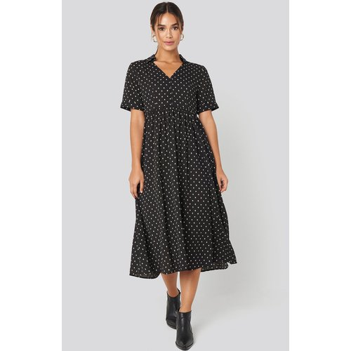 MANGO Phoebe H Dress - Black - Mango - Modalova