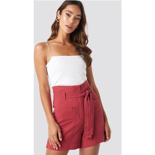 MANGO Pocket Shorts - Red - Mango - Modalova