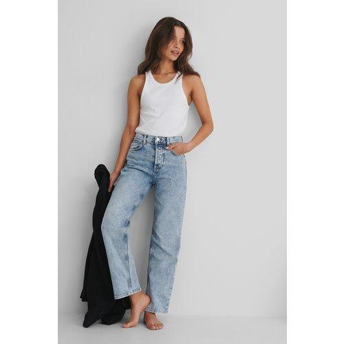 MANGO Premium Crop Jeans - Blue - Mango - Modalova