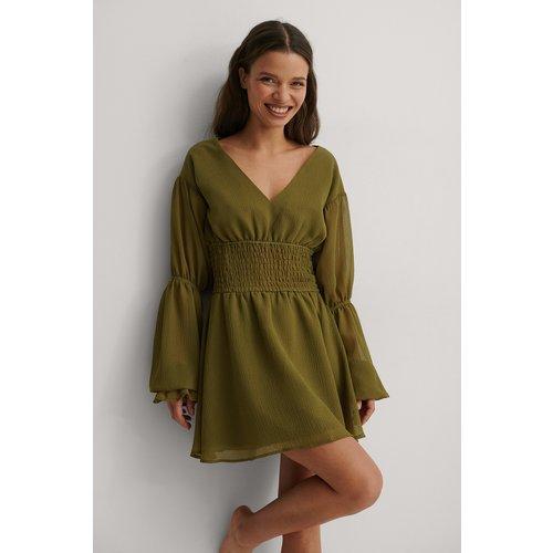 Recyclée Robe Mini - Green - Matiamu By Sofia x NA-KD - Modalova