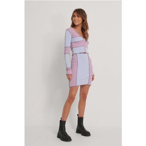 Jupe Taille Haute - Multicolor - Melissa Bentsen x NA-KD - Modalova