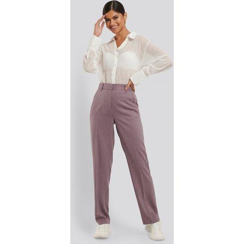 Pantalon De Costume - Purple - NA-KD Classic - Modalova