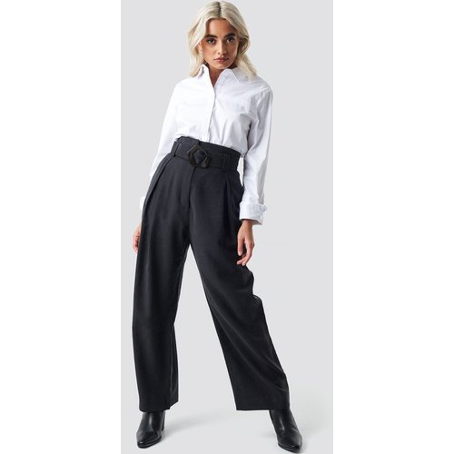 MANGO Bag Trousers - Black - Mango - Modalova