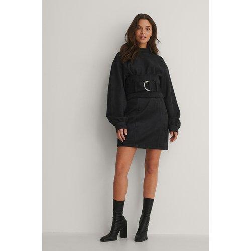 Robe Mini - Black - Isha Van Dijk x NA-KD - Modalova