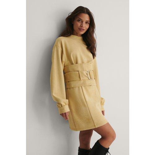 Robe Mini - Beige - Isha Van Dijk x NA-KD - Modalova