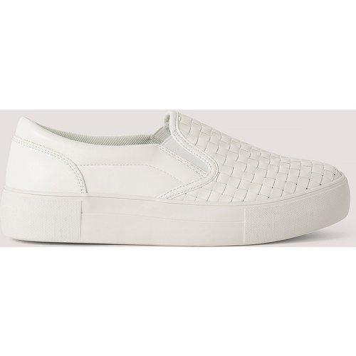 Baskets Tressées À Enfiler - White - NA-KD Shoes - Modalova