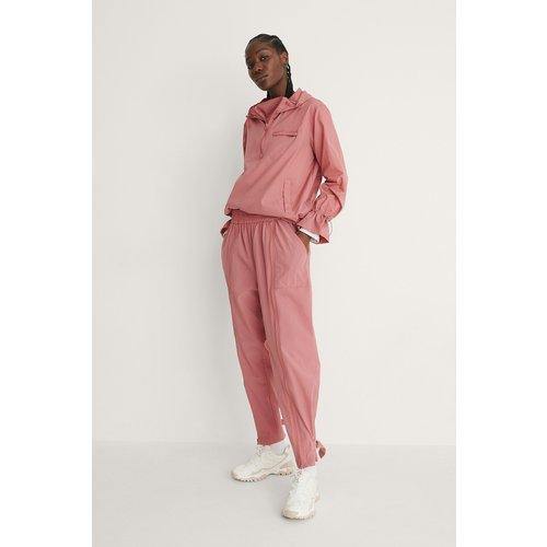 Détail De Fermeture Éclair Pantalon De Survêtement - Pink - NA-KD Flow - Modalova