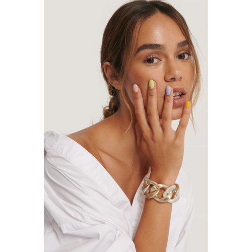 Bracelet Épais Deux Tons - Multicolor - NA-KD Accessories - Modalova