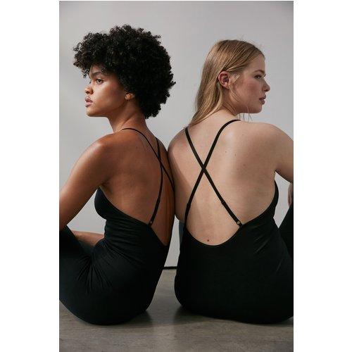 Sans Couture Body - Black - NA-KD Flow - Modalova