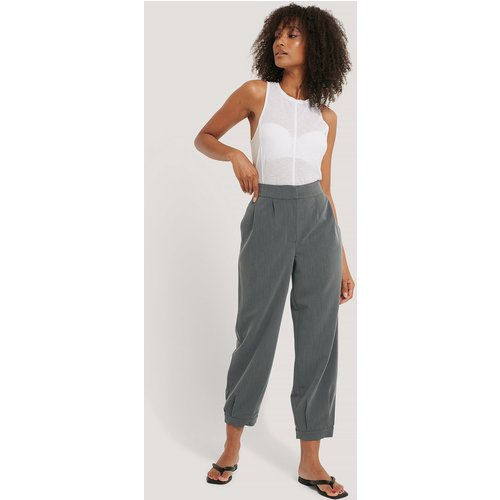 Pantalon De Costume - Grey - NA-KD Classic - Modalova
