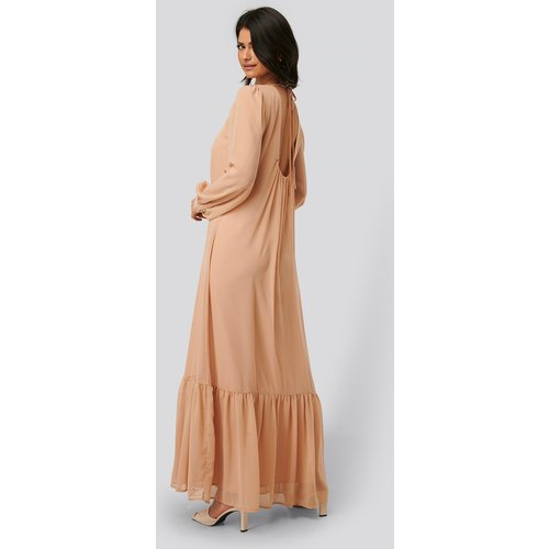 NA-KD Trend Maxi Robe - Pink - NA-KD Trend - Modalova