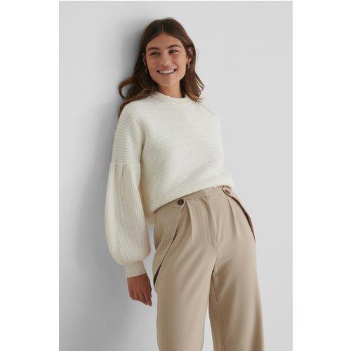 Pull Maille - Offwhite - The Fashion Fraction x NA-KD - Modalova