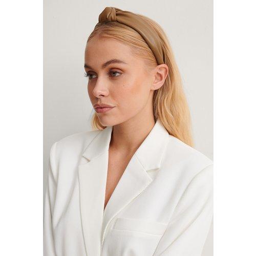 Similicuir Bandeau Cheveux - Brown - NA-KD Accessories - Modalova