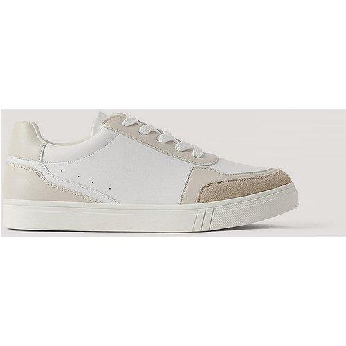 Tennis En Faux Daim - White - NA-KD Shoes - Modalova