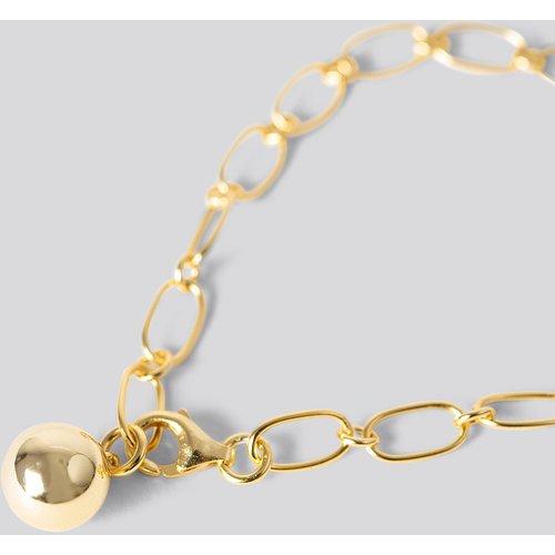 Gold Plated Thin Chain Bracelet - Gold - NA-KD Accessories - Modalova