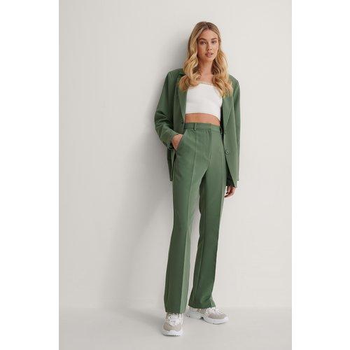 Pantalon De Costume - Green - Queen of Jetlags x NA-KD - Modalova