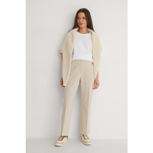 Pantalon De Costume - Beige - NA-KD Classic - Modalova