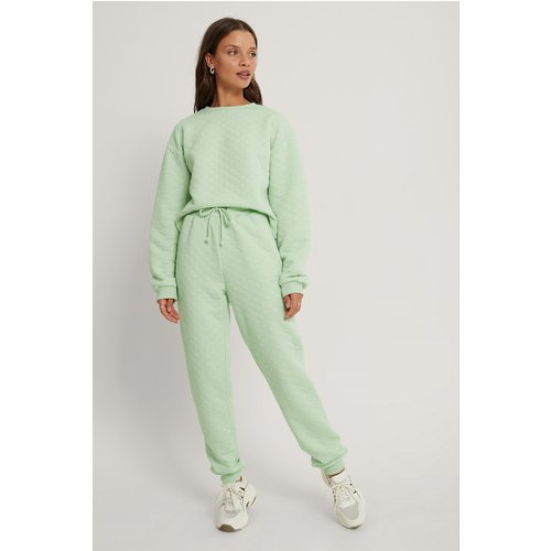 Pantalon De Survêtement - Green - Lisa-Marie Schiffner x NA-KD - Modalova