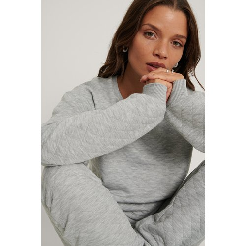 Pull - Grey - Lisa-Marie Schiffner x NA-KD - Modalova