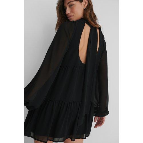 Recyclée Robe Dos Nu - Black - The Fashion Fraction x NA-KD - Modalova
