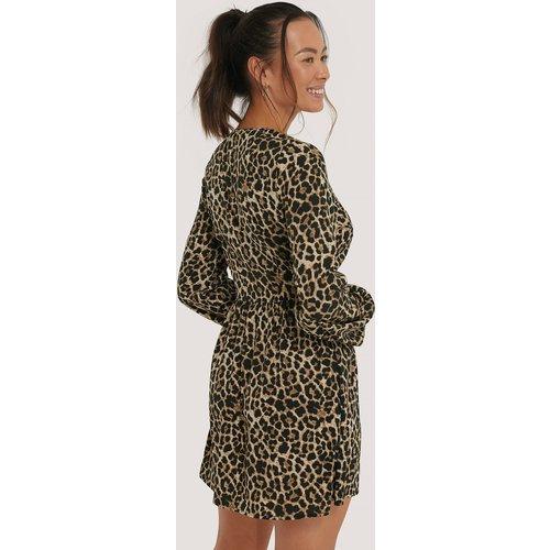 Mini Robe Portefeuille - Multicolor - NA-KD - Modalova