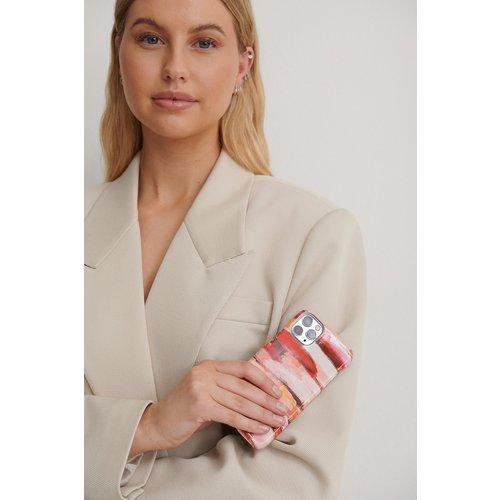 Printed Phone Case - Pink - NA-KD Accessories - Modalova