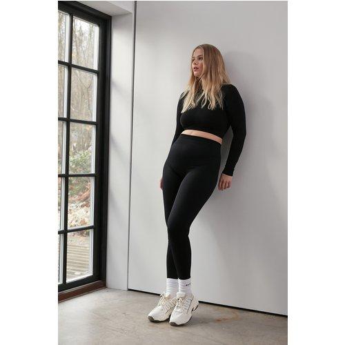 Sans Couture Legging - Black - NA-KD Flow - Modalova