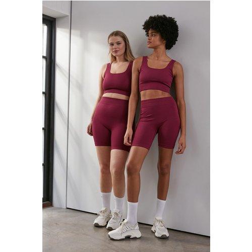 Sans Couture Short - Pink - NA-KD Flow - Modalova