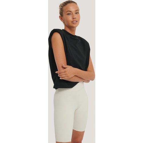 Biologique Haut À Épaulettes - Black - NA-KD Reborn - Modalova