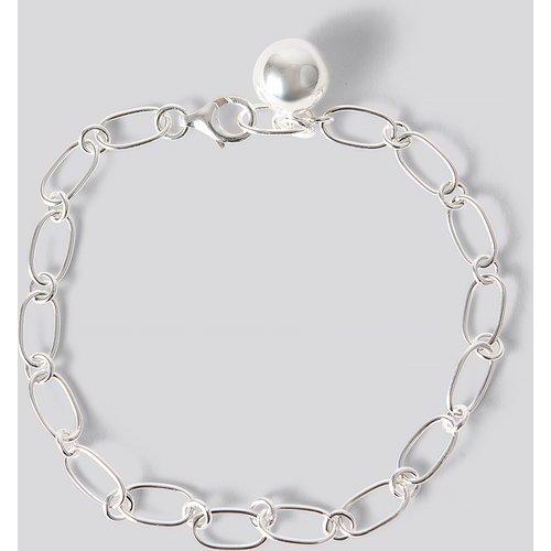 Sterling Silver Thin Chain Bracelet - Silver - NA-KD Accessories - Modalova