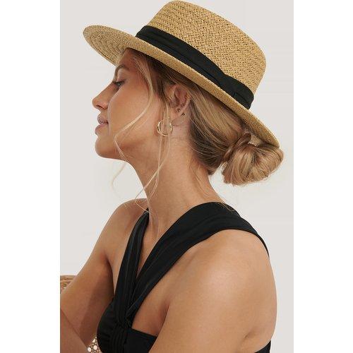 Chapeau De Paille - Beige - NA-KD Accessories - Modalova