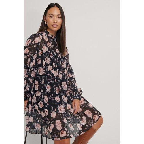 Robe Structurée Imprimée À Fleurs - Multicolor - NA-KD Boho - Modalova